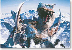Monster Hunter Tigrex 300 Pieces (Anime Toy)