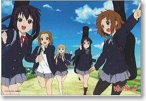 K-on! 500 Pieces Go with Everybody! (Anime Toy)