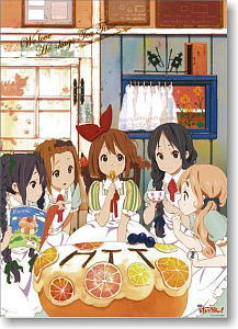 K-on the Movie 2000 peace HTT in Wonderland (Anime Toy)