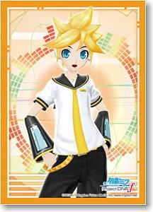 Bushiroad Sleeve Collection HG Vol.470 Hatsune Miku -Project DIVA- f [Kagamine Ren] (Card Sleeve)