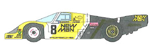 1/43 956 NEWMAN LM1984 (Long tail) (レジン・メタルキット)