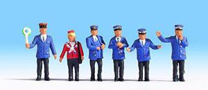 Noch 36265 German Rail Officials N Scale  Figures
