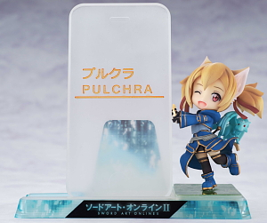 Smart Phone Stand Beautiful Girl Character Collection No.09 Sword Art Online II Silica (Anime Toy)