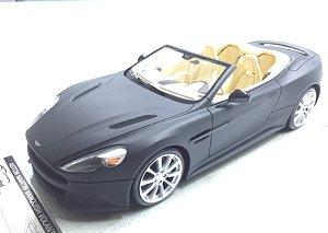 Aston Martin Vanquish Volante Cabriolet Matt Black Cream Interior Diecast Car Hobbysearch Diecast Car Store