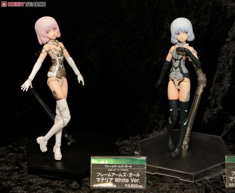 Frame Arms Girl Materia White Ver. (Plastic model) Other picture7