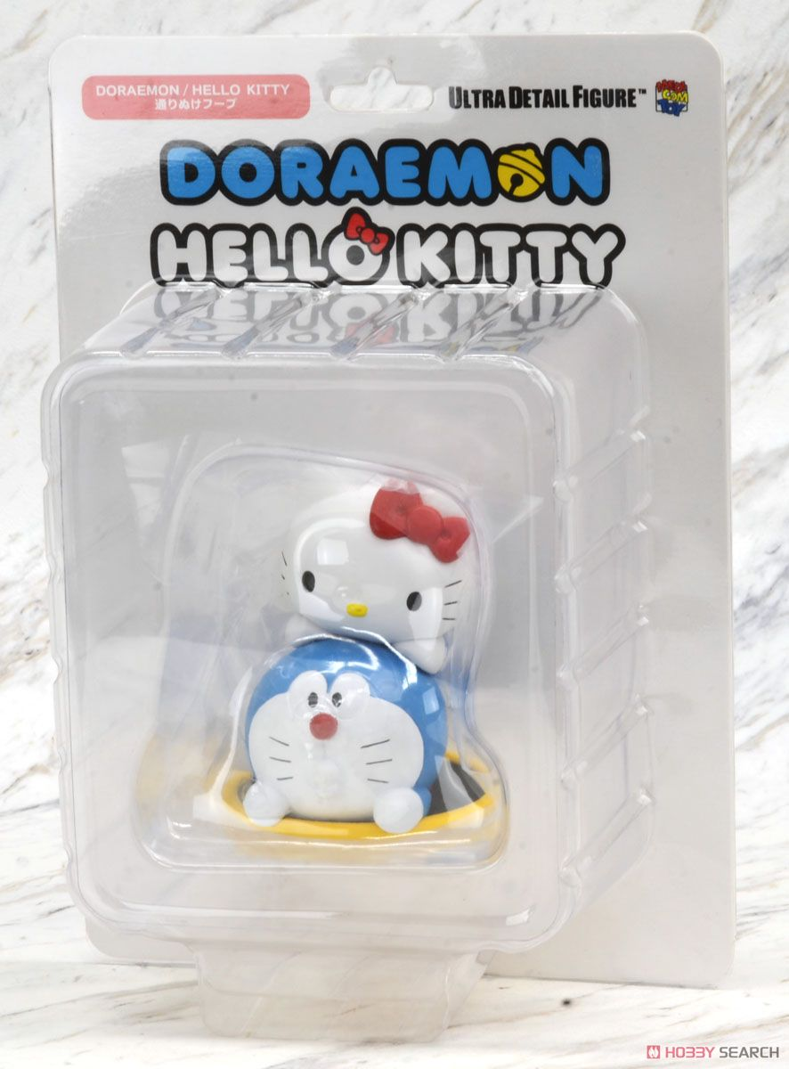 UDF Doraemon Meets Hello Kitty Doraemon x Hello Kitty & Going Through Hoop (Completed) Package1