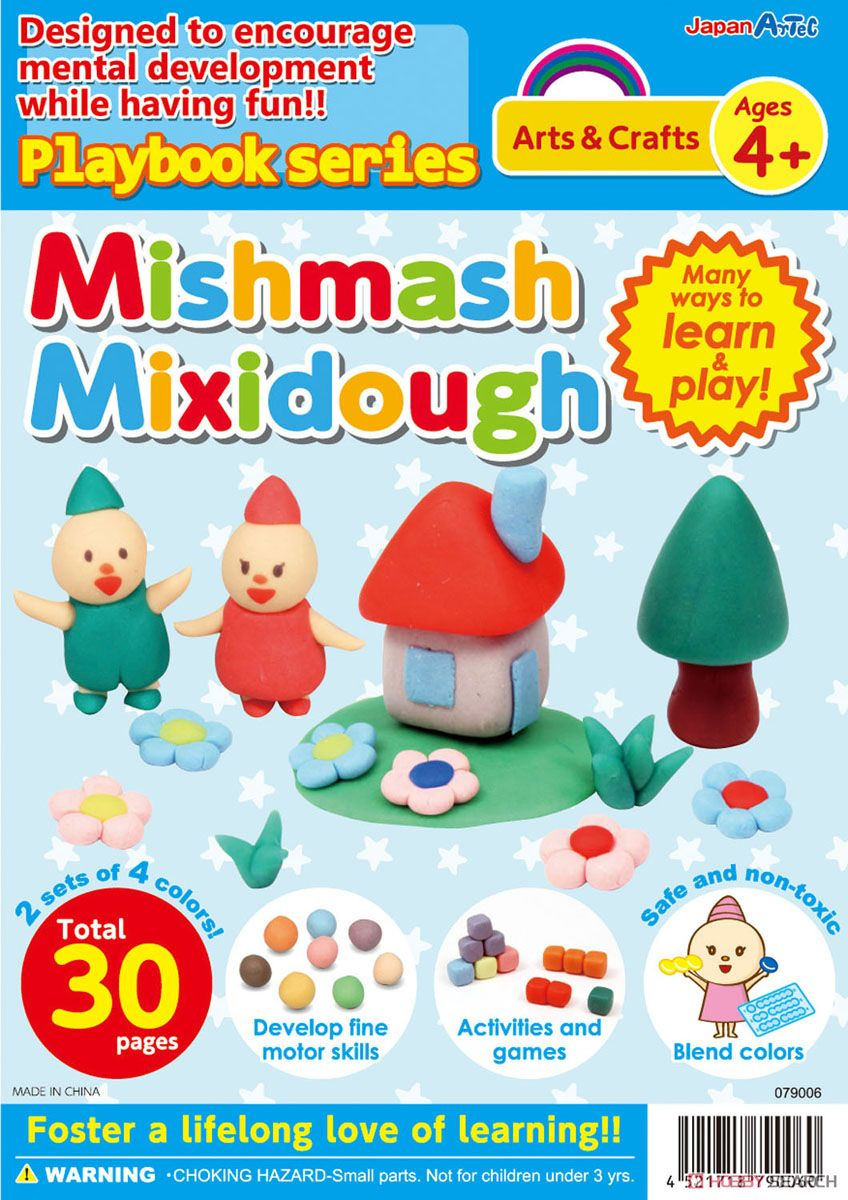 English version Playbook Mishmash Mixi Dough (Educational) Item picture1