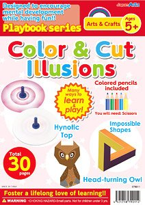 English version Playbook Color & Cut Illusions (Educational)