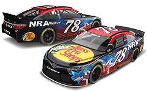 NASCAR MONSTER ENERGY Series 2016 Toyota Camry Bass Pro Shops/NRA Museum #78 Martin Truex Jr. (ミニカー)