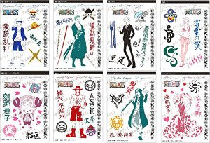 One Piece Tattoo Sticker Collection (Set of 10) (Shokugan)