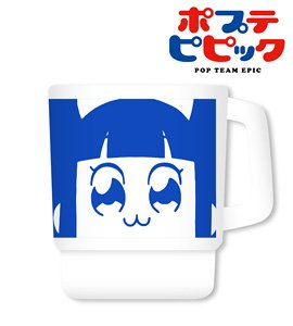 Pop Team Epic Face Stacking Mug Cup (Pipimi) (Anime Toy)