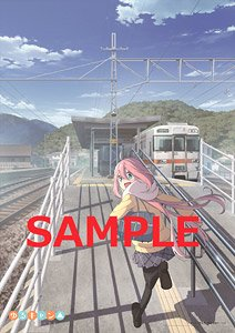 Yurucamp Offshot Clear Poster Nadeshiko (Anime Toy)
