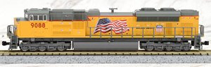 EMD SD70ACe Nose Headlight Union Pacific (UP) - Tier 4 Credit Locomotives #9088 ★外国形モデル (鉄道模型)