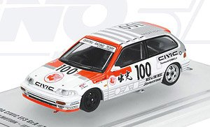 Honda Civic EF3 Gr.A #100 `Idemitsu Motion` JTC 1989 (Diecast Car)