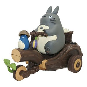 Pullback Collection My Neighbor Totoro Totoro`s Tricycle (Character Toy)