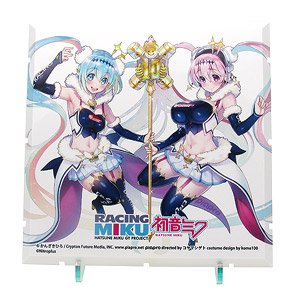 Dioramansion 150: Racing Miku Pit 2018 Optional Panel (Super Sonico Collab Ver.) (Anime Toy)