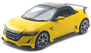 Mugen S660 (2015) Carnival Yellow II (Diecast Car)