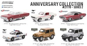 Anniversary Collection Series 2 6種セット (ミニカー)