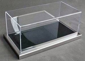 Dieppe Metal Frame / Acrylic Base (Black) & Acrylic Case (Case, Cover)