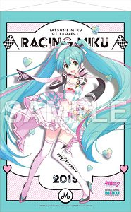 Hatsune Miku Racing Ver. 2019 Tapestry 1 (Anime Toy)