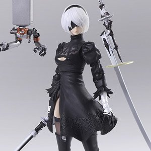 Nier: Automata Bring Arts YoRHa No.2 Type B Version 2.0 (PVC Figure)