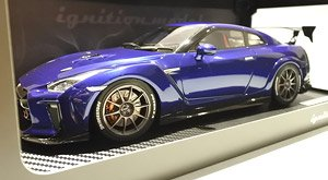 TOP SECRET GT-R (R35) Blue Metallic (Diecast Car)