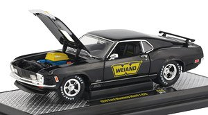 1970 Ford Mustang Mach 1 428 Weiand (Diecast Car)