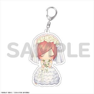 The Quintessential Quintuplets Acrylic Key Ring Bride (Anime Toy)