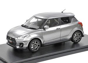 Suzuki Swift Sports (2017) Premium Silver Metallic (Diecast Car)