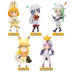 Kemono Friends Collection Figure (Set of 6) (PVC Figure)