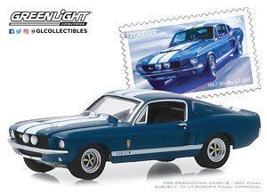 1967 Shelby GT500 - United States Postal Service (USPS) America on the Move: Muscle Cars (ミニカー)