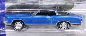 Johnny Lightning - Muscle Cars USA 2018 Release5 1970 Chevy Monte Carlo Mulsanna Blue (ミニカー)