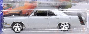 Johnny Lightning - Muscle Cars USA 2018 Release5 1970 Dodge Dart Swinger Silver Poly (ミニカー)