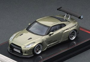PANDEM R35 GT-R Green Metallic (ミニカー)