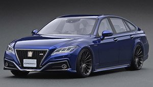 Toyota Crown (220) 3.5L RS Advance Blue Metallic (ミニカー)