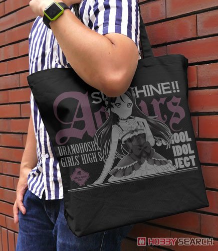 Love Live! Sunshine!! Riko Sakurauchi Large Tote Gothic & Lolita Ver. Black (Anime Toy) Other picture1