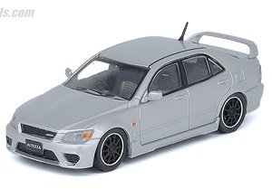 Toyota Altezza RS200 Z-Edition Silver w/Wheel Set, Decal (Diecast Car)