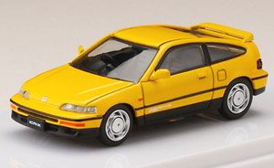 Honda CR-X SiR (EF8) Yellow (ミニカー)