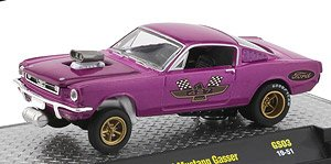1966 Ford Mustang - GASSERS - Mag Purple (ミニカー)
