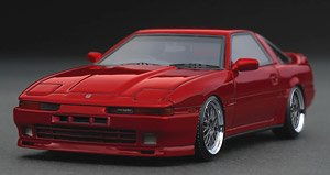 Toyota Supra 3.0GT turbo A (MA70) Red (ミニカー)