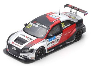 Audi RS3 LMS No.22 Comtoyou Team Audi Sport 2nd Race 2 WTCR 2019 Marrakesh Frederic Vervisch (ミニカー)