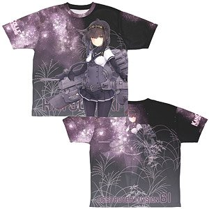 Kantai Collection Hatsuzuki Double Sided Full Graphic T-Shirts M (Anime Toy)