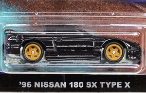 Hot Wheels Car Culture Assort -Street Tuners `96 NISSAN 180SX TYPE X (完成品)