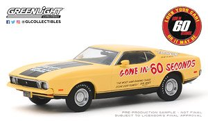 Gone in Sixty Seconds 1973 Ford Mustang Mach 1 `Eleanor` (Post-Filming Tribute Edition) (ミニカー)
