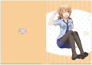 My Teen Romantic Comedy Snafu Too! Iroha (Police) A4 Clear File (Anime Toy)