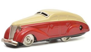 Turning Car Red / Beige (Diecast Car)