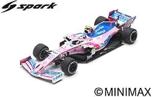 SportPesa Racing Point F1 Team No.11 Chinese GP 2019 Racing Point-Mercedes RP19 (Diecast Car)
