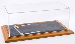 Diorama Display Base `Starting Grid` & Acrylic Case (Case, Cover)