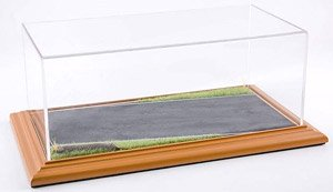 Diorama Display Base `Country Road` & Acrylic Case (Case, Cover)