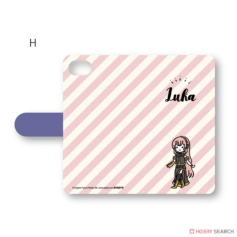 [Hatsune Miku] Notebook Type Smart Phone Case (iPhoneXR) Playp-Luka H (Anime Toy) Item picture1